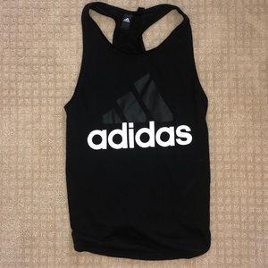 worn once black adidas tank